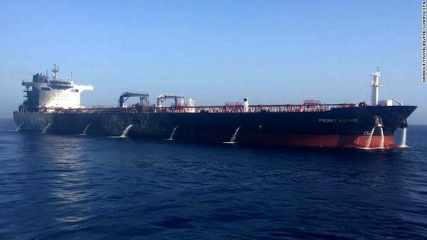 Iran Oil Tanker Returns from Saudi Port after 80 Days
