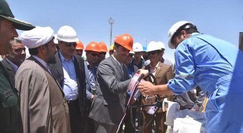 بزرگترین مرکز جمعآوری گاز ایران در سرخس به بهرهبرداری رسید