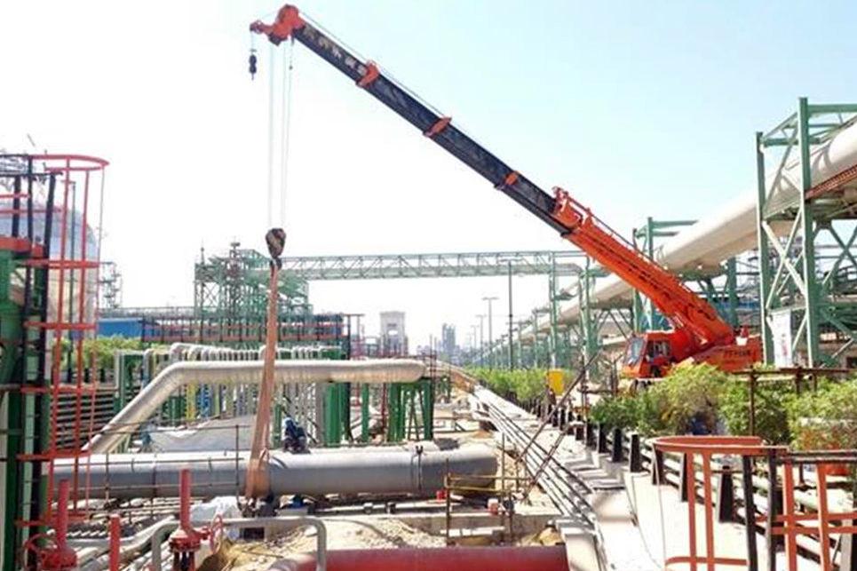 جایگزینی خطوط آب خنککننده GRP با کربن استیل در پتروشیمی جم