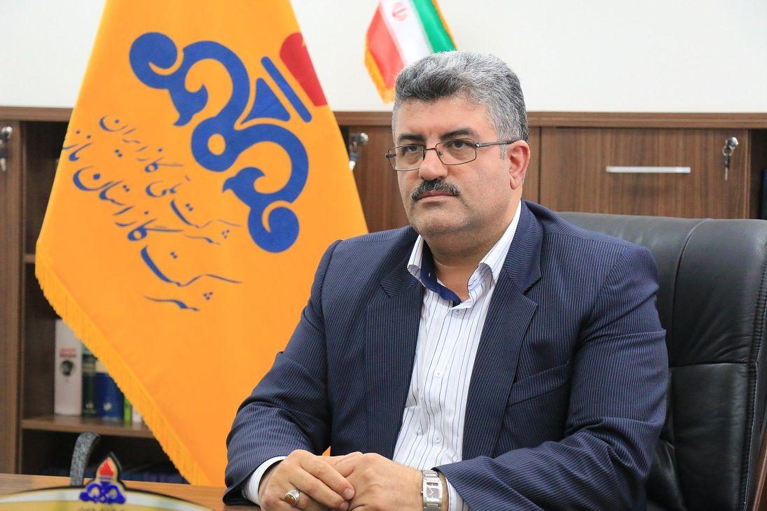 ترمیم و تعمیر شبکه انتقال گاز در مسیر رودخانه تلار قائمشهر