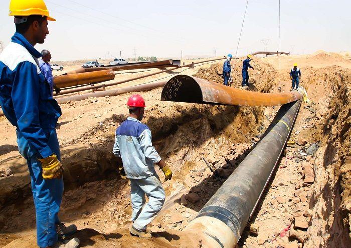 خطوط لوله جریانی نفت و گاز مارون ایمنسازی شد
