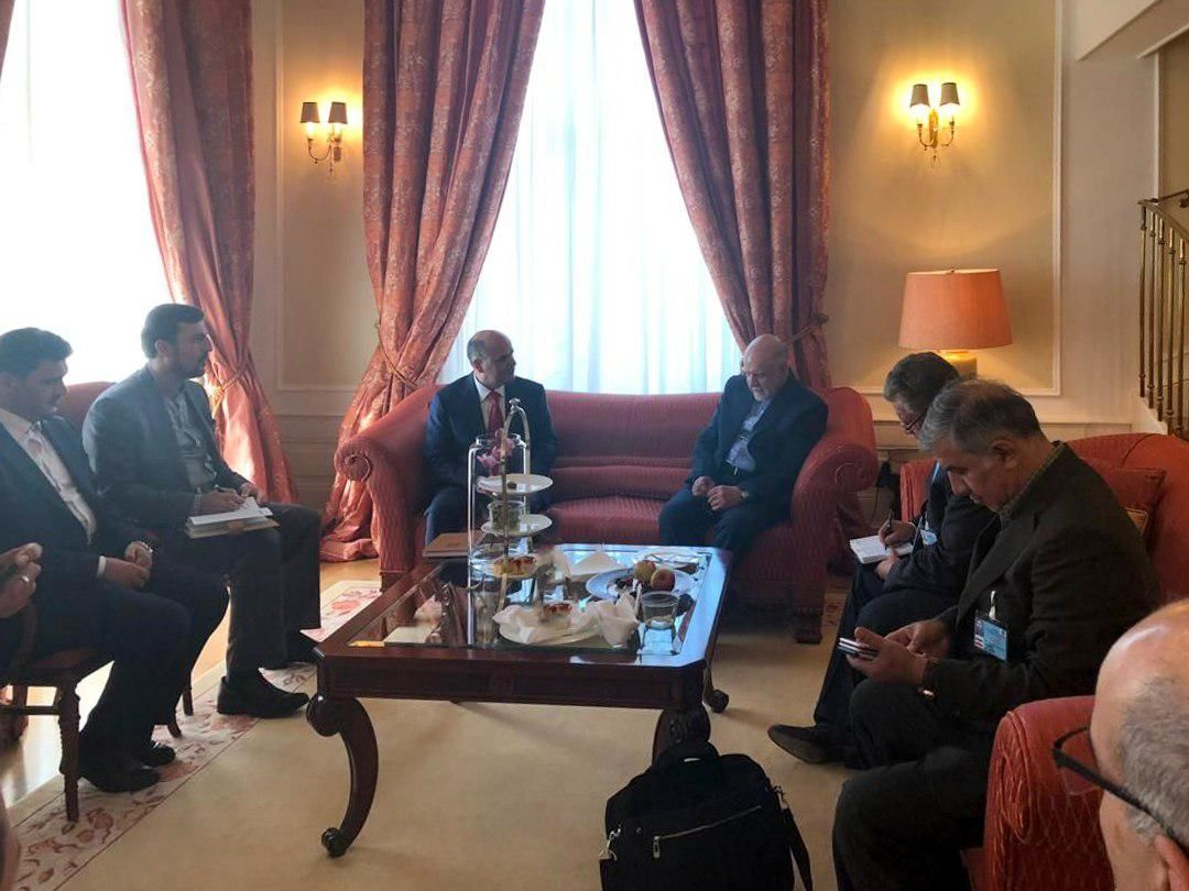 Zangeneh Meets with OPEC President in Vienna