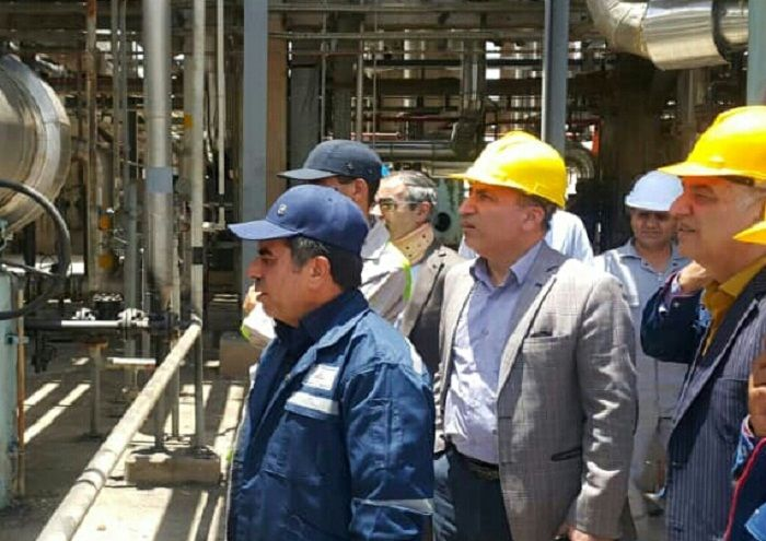 تعمیر کارخانه ۱۲۰۰ گاز و گاز مایع گچساران تسریع شود