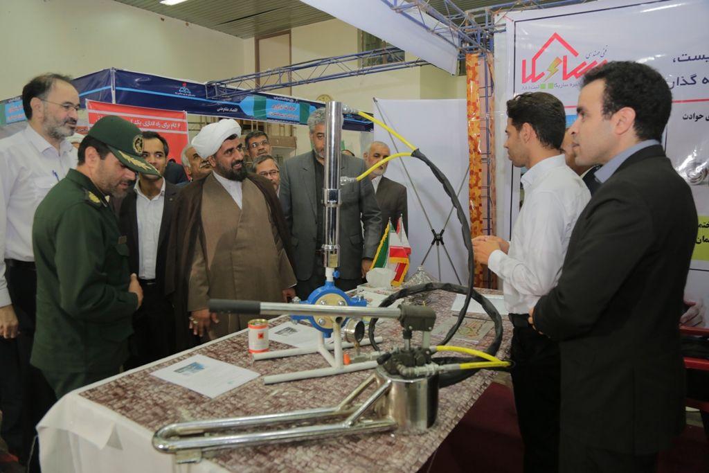 برگزاری نمایشگاه محصولات سرخس با حمایت پالایشگاه گاز هاشمینژاد