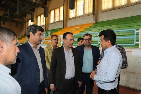 بازدید مدیرعامل شرکت ملی مناطق نفتخیز جنوب از مناطق زلزلهزده مسجدسلیمان