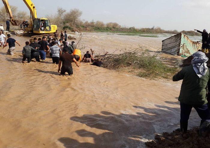 ۷ هزار هکتار از اراضی کشاورزی دشت آزادگان از آب تخلیه شد