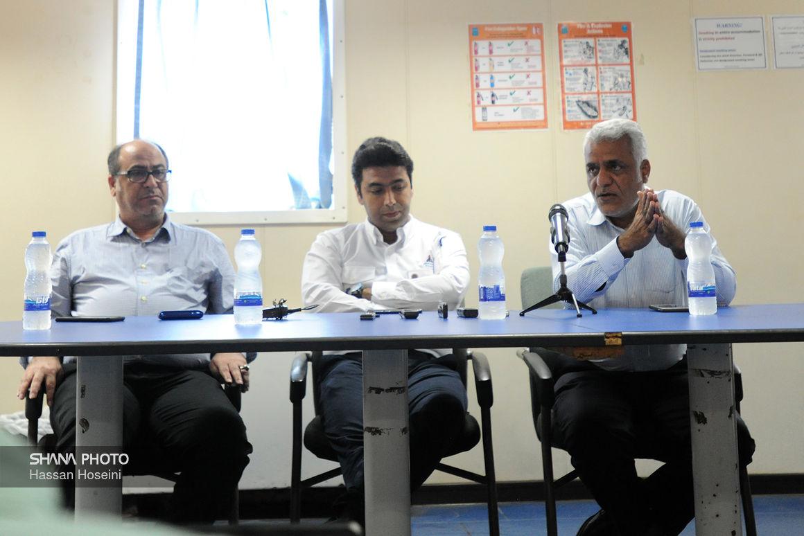 نشست خبری مجری طرح توسعه فاز ۱۴ پارس جنوبی