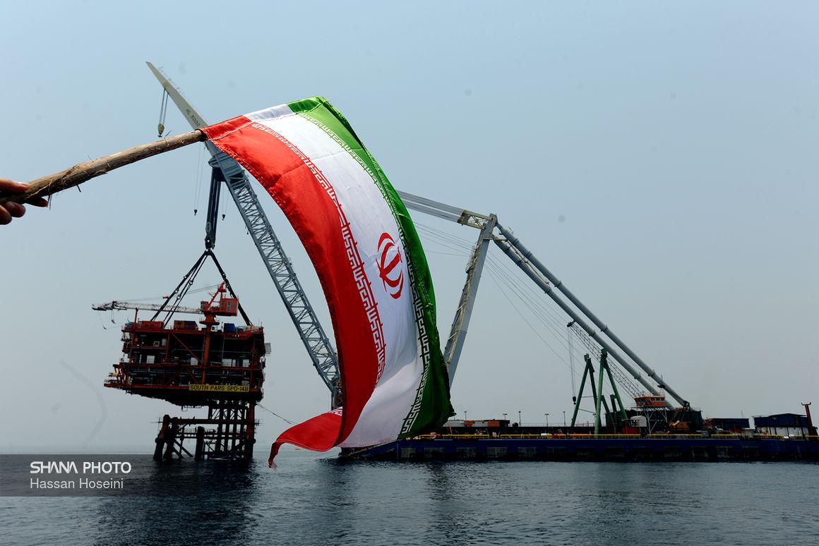 بخش دریایی فاز ۱۴ پارس جنوبی دیماه تکمیل میشود