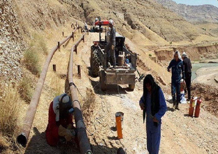 راهاندازی خط لوله انتقال نفت واحد بهرهبرداری سرکان مالهکوه
