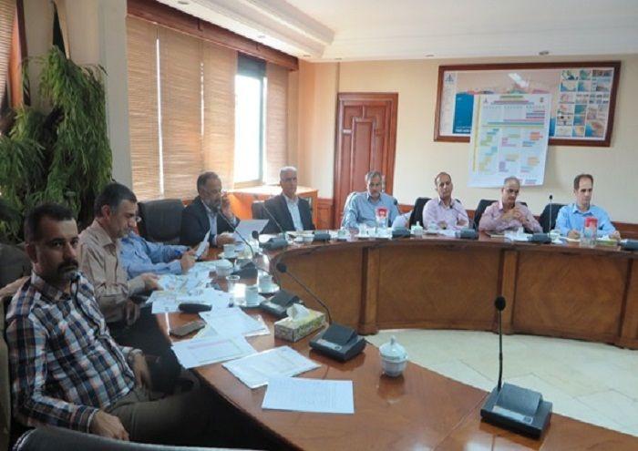 دومین نشست کمیته راهبری طرح توسعه فناوری سنگهای کربناته دشت آبادان برگزار شد