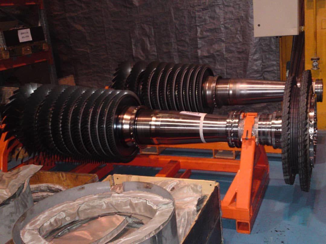تعمیر اساسی ۲۱ دستگاه توربین گازی در کارگاه آغاجاری