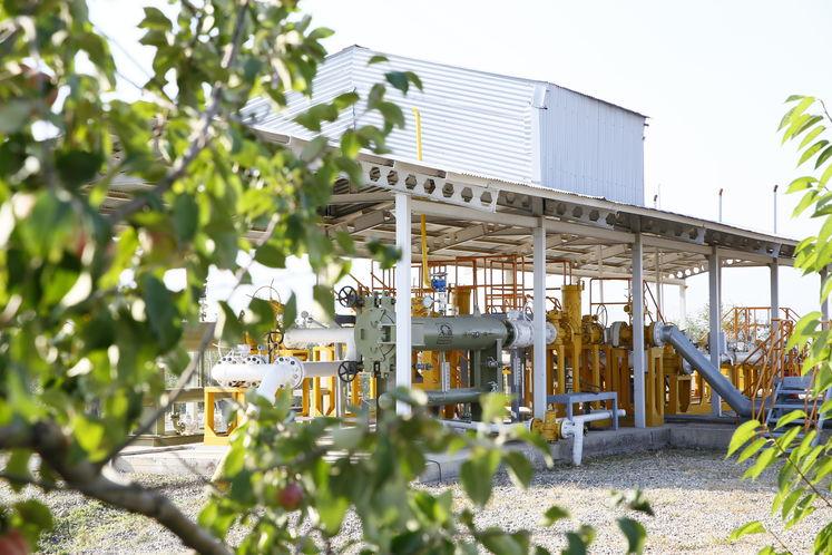 ایستگاه تقلیل فشار گاز