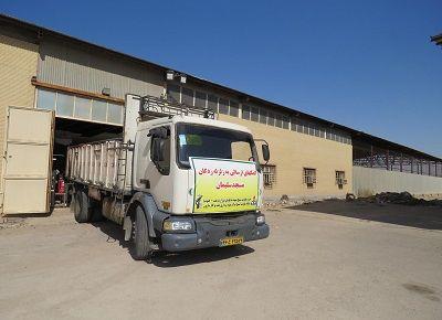 ارسال محموله کمکهای شرکت نفت و گاز مارون به مسجدسلیمان