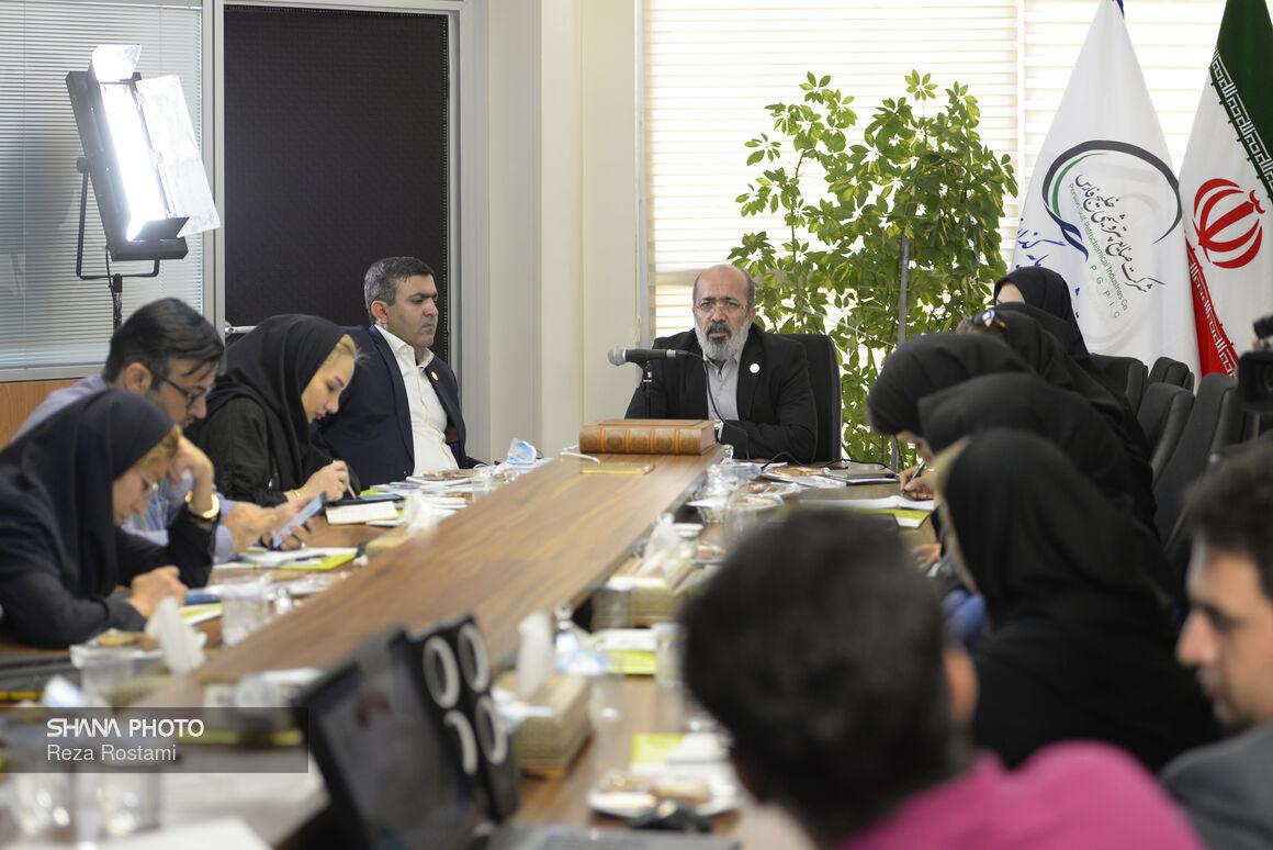 نشست خبری مدیرعامل شرکت گروه پتروشیمی سرمایهگذاری ایرانیان