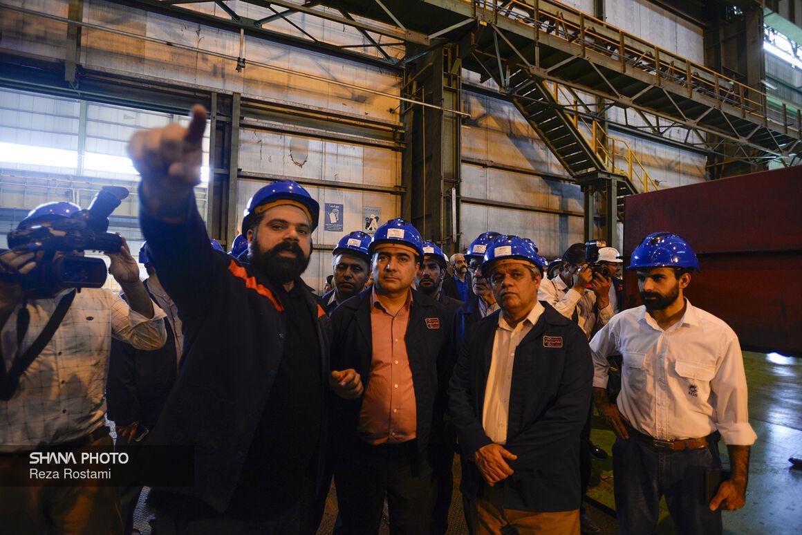 بومیسازی ورق فولاد ترش از خروج ۲۰۰ میلیون یورو ارز جلوگیری کرد
