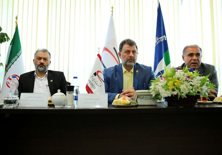 انعقاد تفاهم نامه همکاری مشترک کسب و کار بین شرکت توسعه پترو ایران و شرکت ملی حفاری