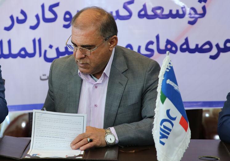 پیام مدیرعامل شرکت ملی حفاری برای برگزاری نمایشگاه نفت خوزستان