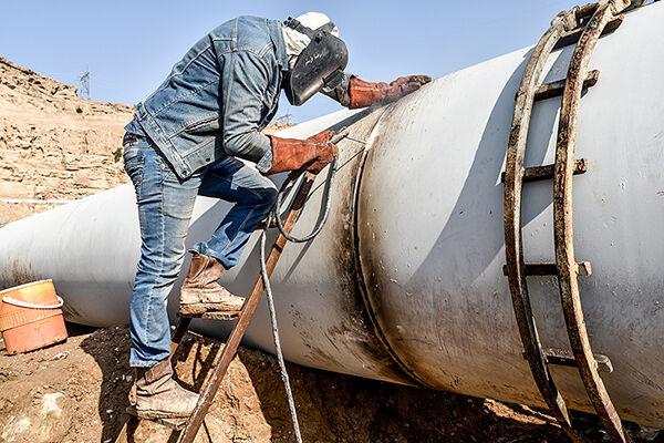 اجرای ۲۵۰ کیلومتر شبکه گازرسانی در استان کرمانشاه