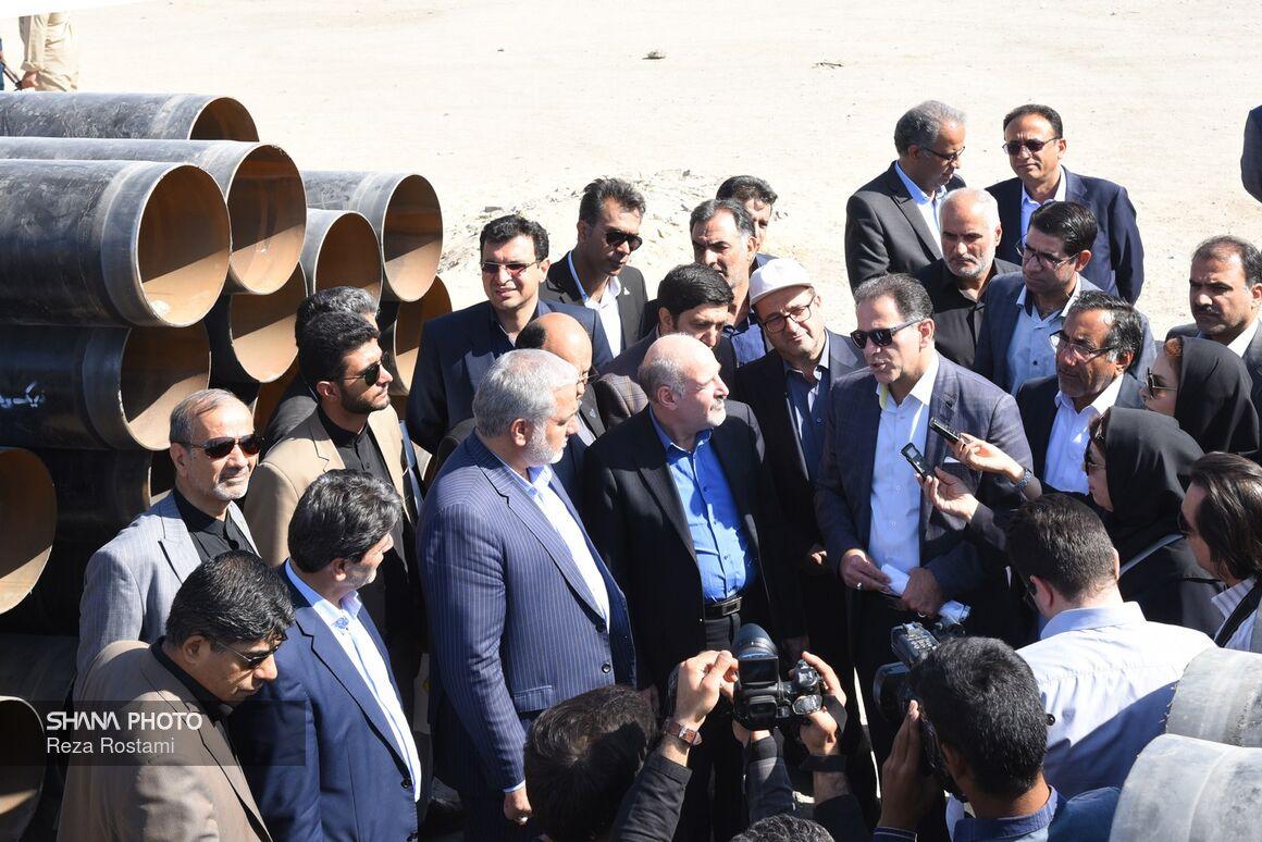 بازدید مدیرعامل شرکت ملی گاز از روند گازرسانی به سیستان و بلوچستان