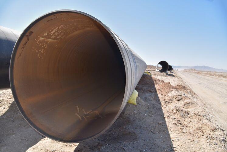 لوله 36 اینچ برای خط لوله انتقال گاز زاهدان - دوراهی دشتک