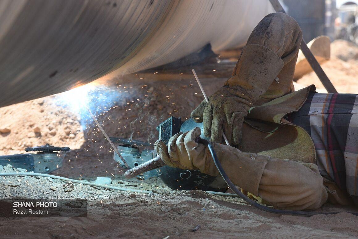 عملیات اجرایی گازرسانی به ۴ شهر سیستان و بلوچستان آغاز شد