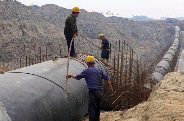 پیشرفت ۲۵ درصدی پروژه انتقال گاز ایرانشهر - چابهار - کنارک