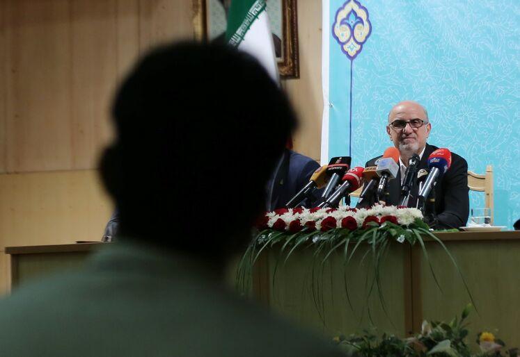 بهزاد محمدی، مدیرعامل شرکت صنایع پتروشیمی
