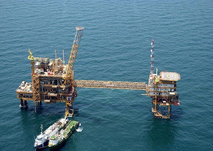 عملیات سبکسازی سکوی نفتی نوروز یک انجام شد