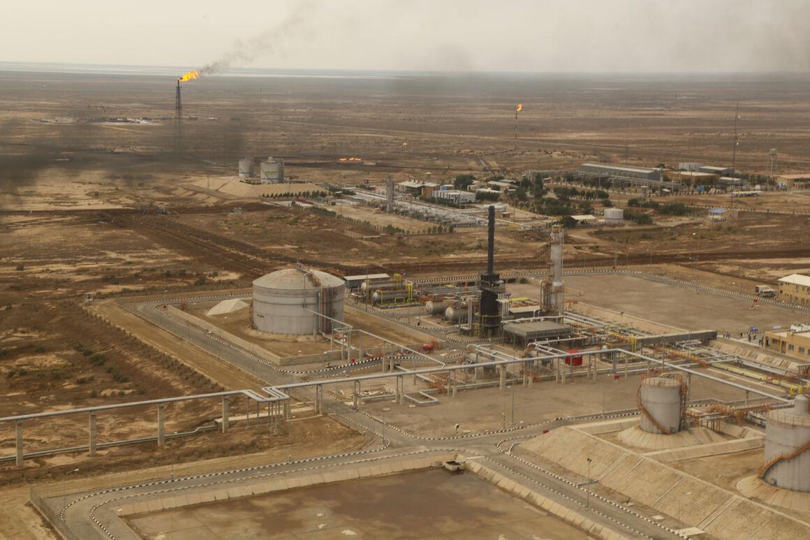 خط لوله انتقال نفت نمکی منصوری تکمیل شد