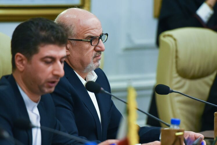 بهزاد محمدی، مدیر عامل شرکت ملی پتروشیمی و معاون وزیر نفت