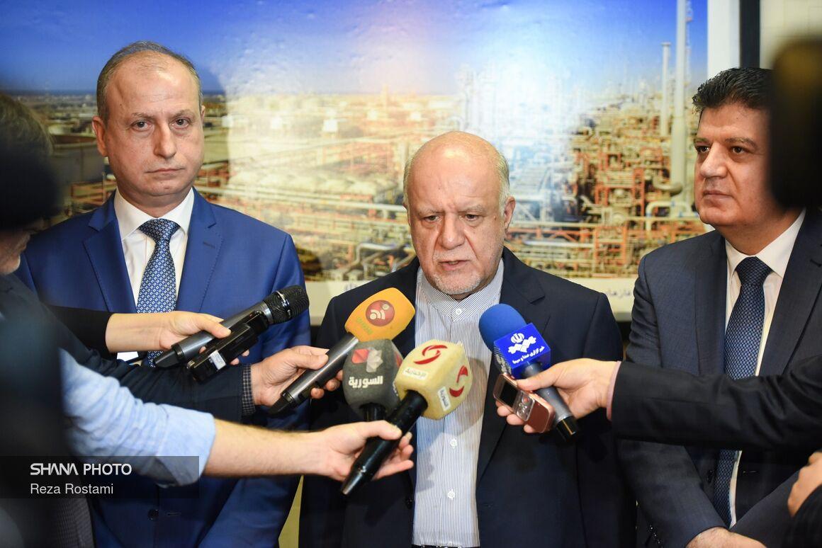 وزیران نفت ایران و سوریه بر توسعه همکاریها دوجانبه تاکید کردند