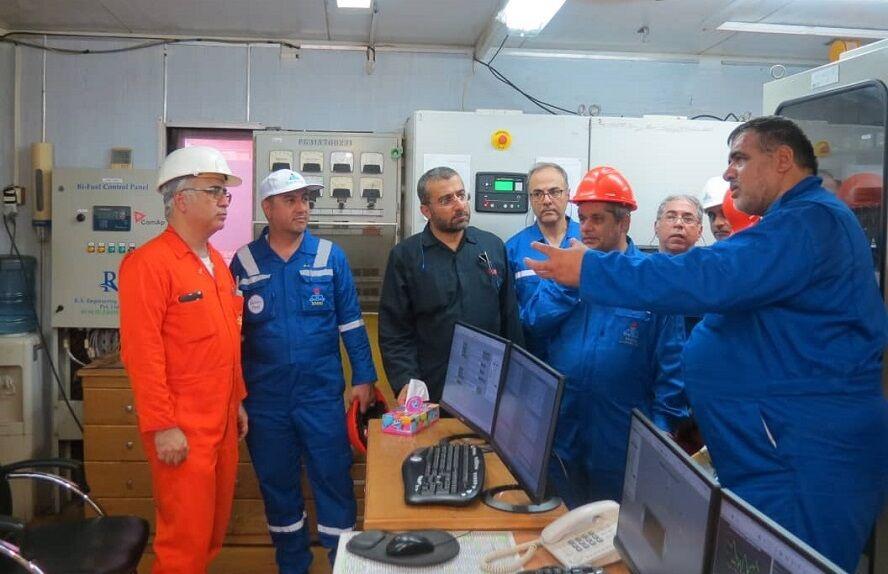 فرآیندهای عملیاتی نفت فلات قاره و پایانههای نفتی در منطقه خارک بررسی شد