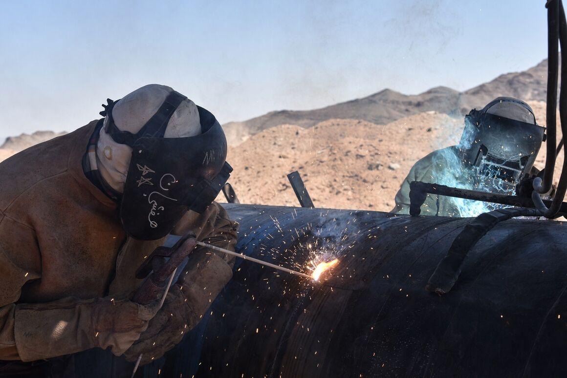 تداوم اجرای تعمیرات خطوط لوله و ایستگاههای انتقال گاز