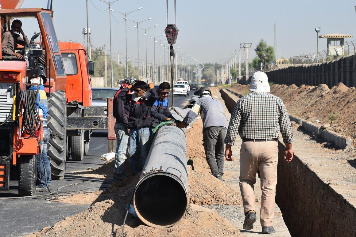 اجرای ۲۳۰ کیلومتر شبکهگذاری گاز در منطقه سیستان