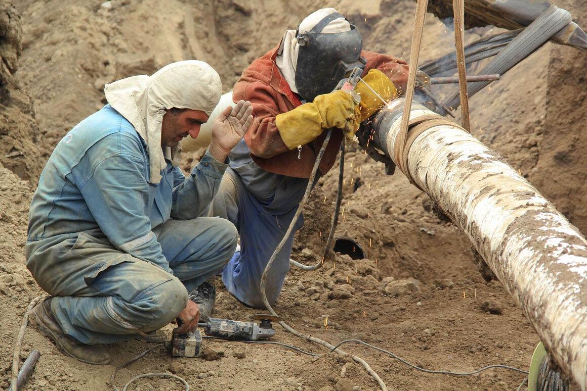اجرای ۲ طرح مقاومسازی و عمقبخشی در خطوط لوله انتقال نفت