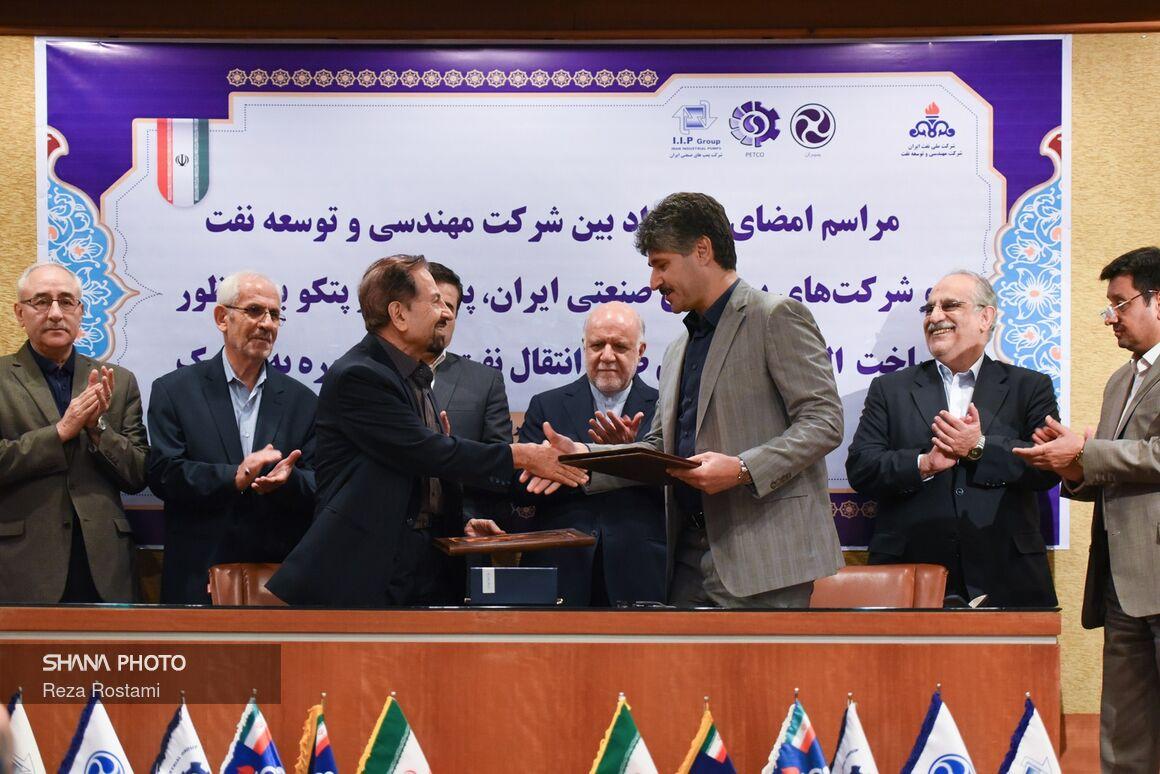 قراردادهای ساخت الکتروپمپهای طرح ملی گوره - جاسک امضا شد