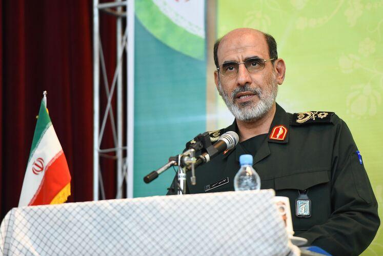 محمدحسین سپهر، جانشین رئیس سازمان بسیج مستضعفین