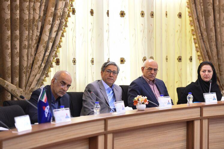 نخستین جلسه کمیته مشترک راهبری (JMC) طرح توسعه میدان سپهر و جفیر