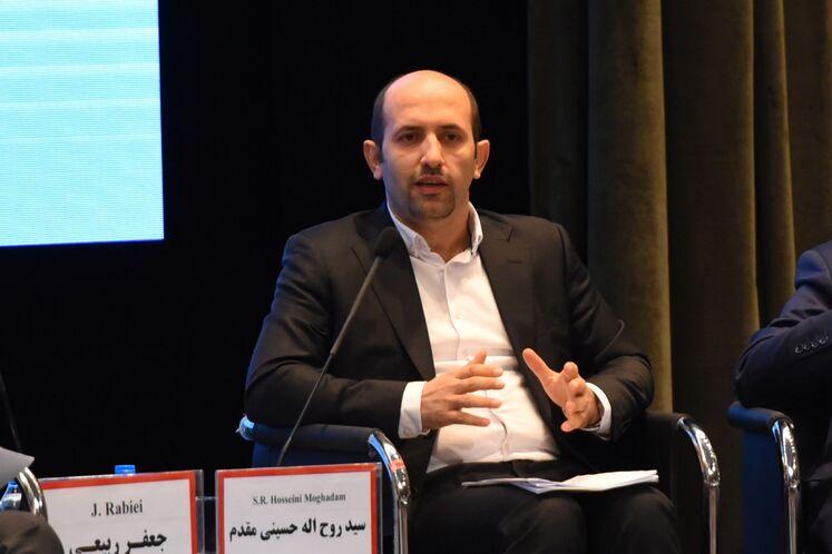 روحاله حسینی مقدم، مدیرعامل شرکت تامین سرمایه بانک ملت