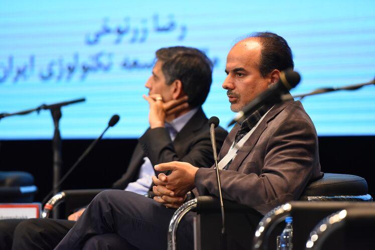 رضا زرنوخی، مدیرعامل صندوق مالی توسعه تکنولوژی ایران