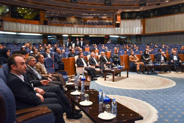 آیین پایانی پنجمین کنگره راهبردی نفت و نیرو، مهرماه ۹۸