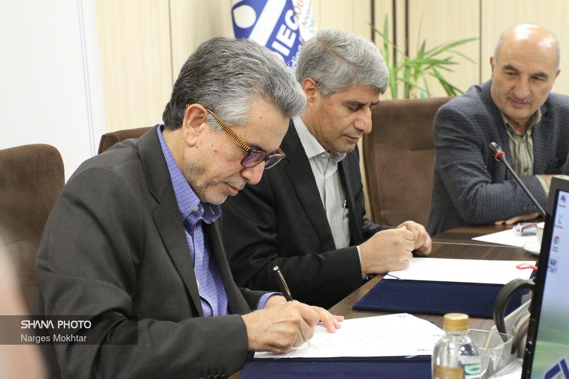 امضای تفاهمنامه همکاری اویک و شرکت گسترش نفت و گاز پارسیان