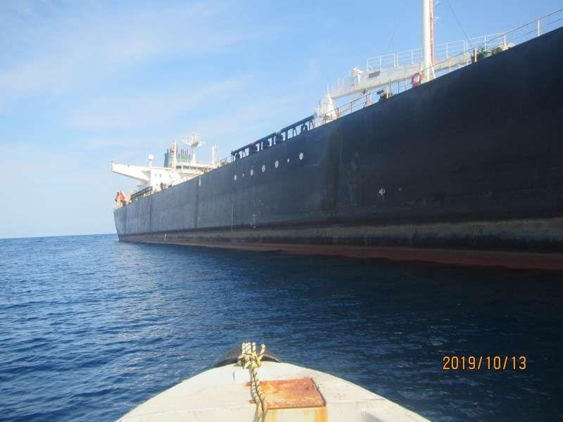 نفتکش «سابیتی» وارد آبهای سرزمینی ایران شد