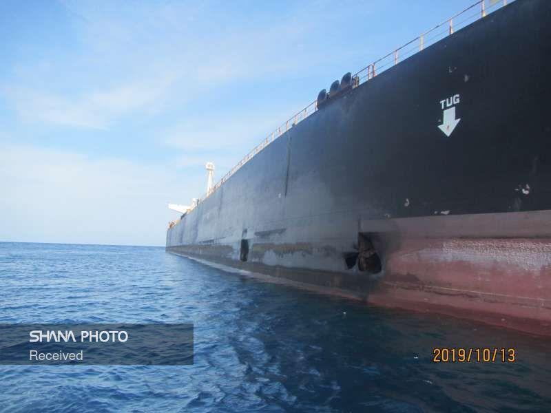 تصاویری از کشتی سابیتی در دریای سرخ
