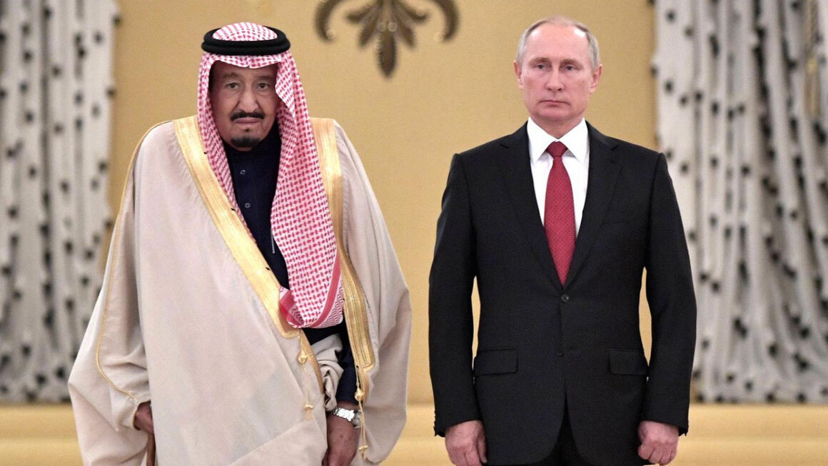گفتوگوی رهبران روسیه و عربستان درباره توافق اوپک پلاس