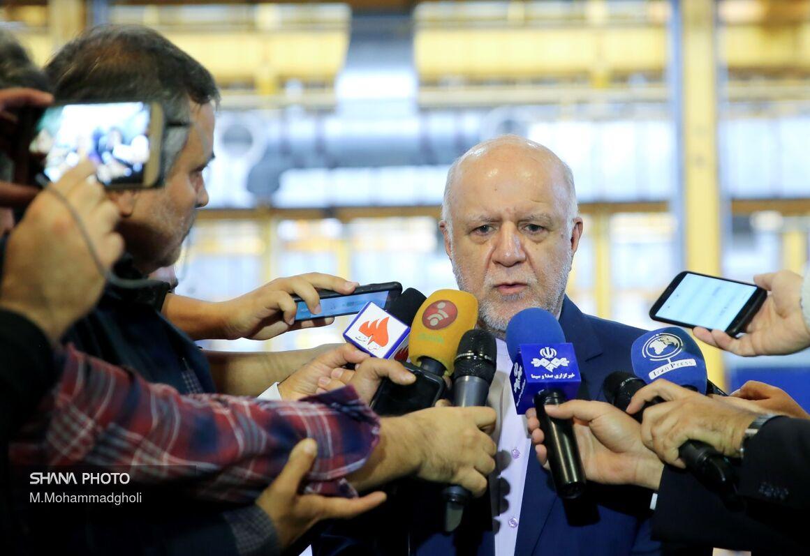 پاسخ وزیر نفت به پرسشهای خبرنگاران در شرکت OTC