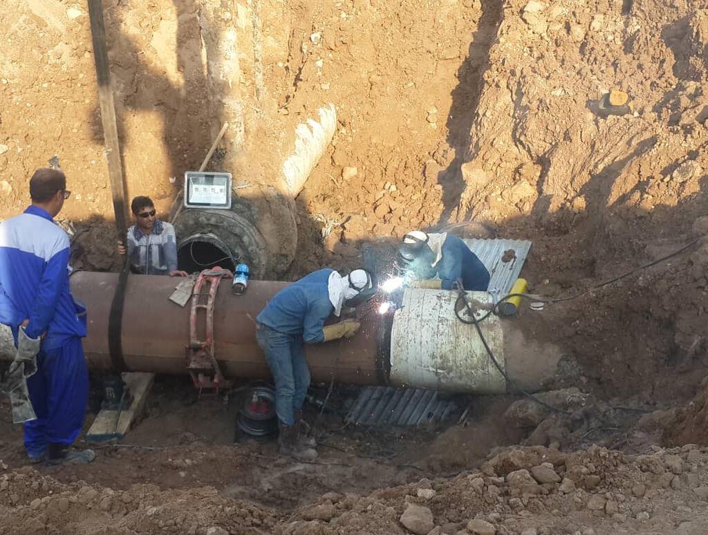 اجرای ۱۴ مورد عملیات انشعاب گرم در منطقه ۸ عملیات انتقال گاز