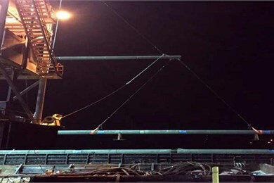 South Pars Gasline Leakage under Control