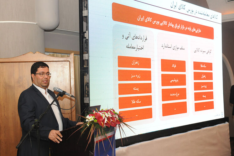 حامد سلطانینژاد، مدیرعامل بورس کالای ایران