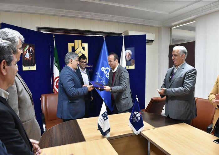 نفت خزر و دانشگاه علم و فناوری مازندران تفاهمنامه همکاری امضا کردند